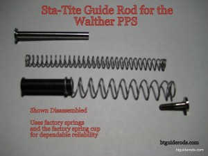 PPS Sta-Tite Rod dis-assembled